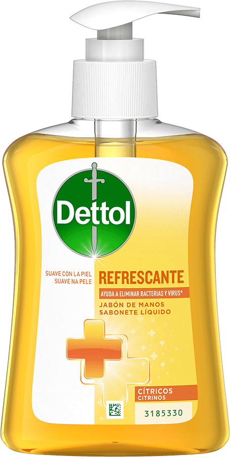 Dettol Jabón de Manos Refrescante